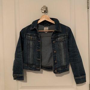 Blue Button-down Denim Jean Jacket